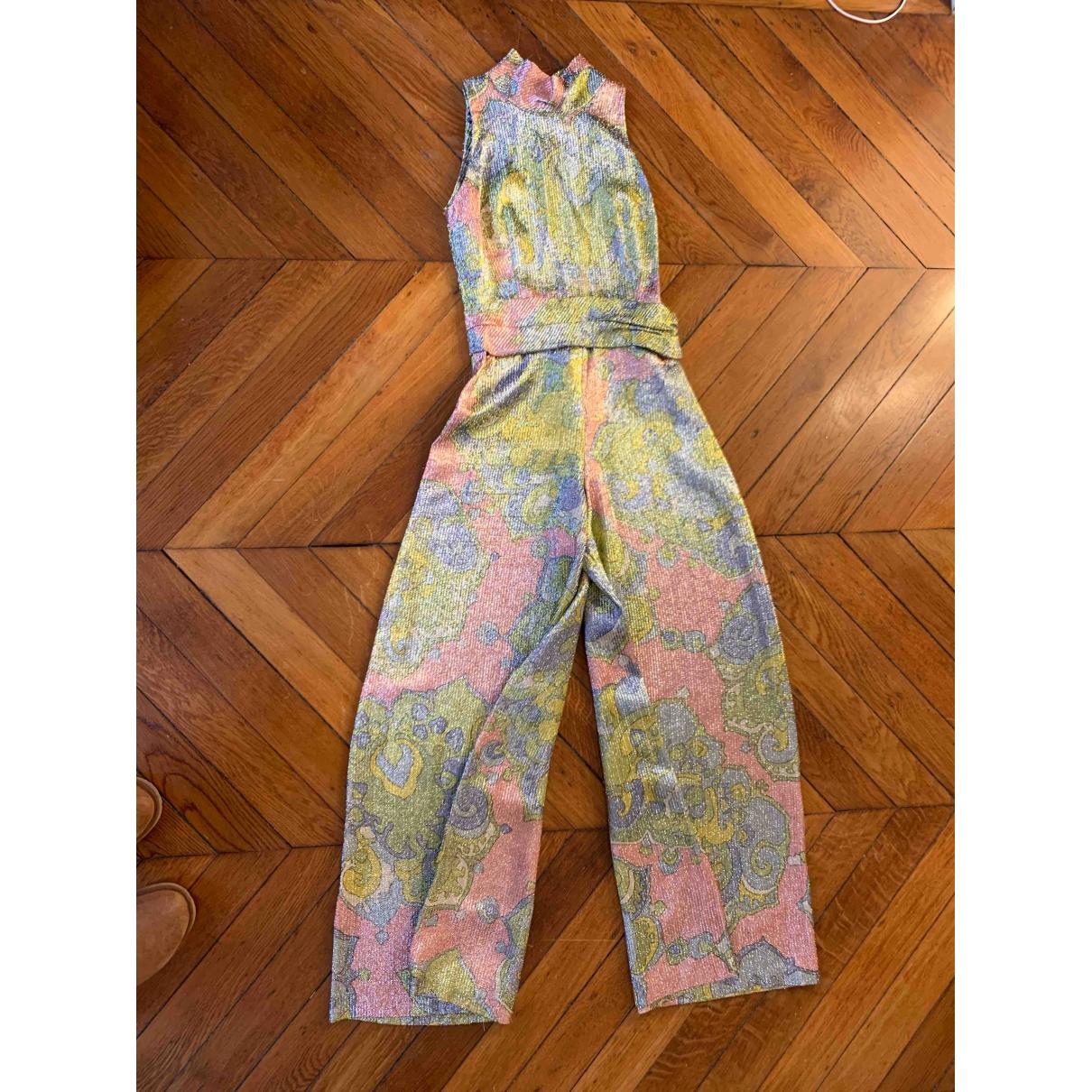 - Combinaison Hippie Chic pour femme - multicolore