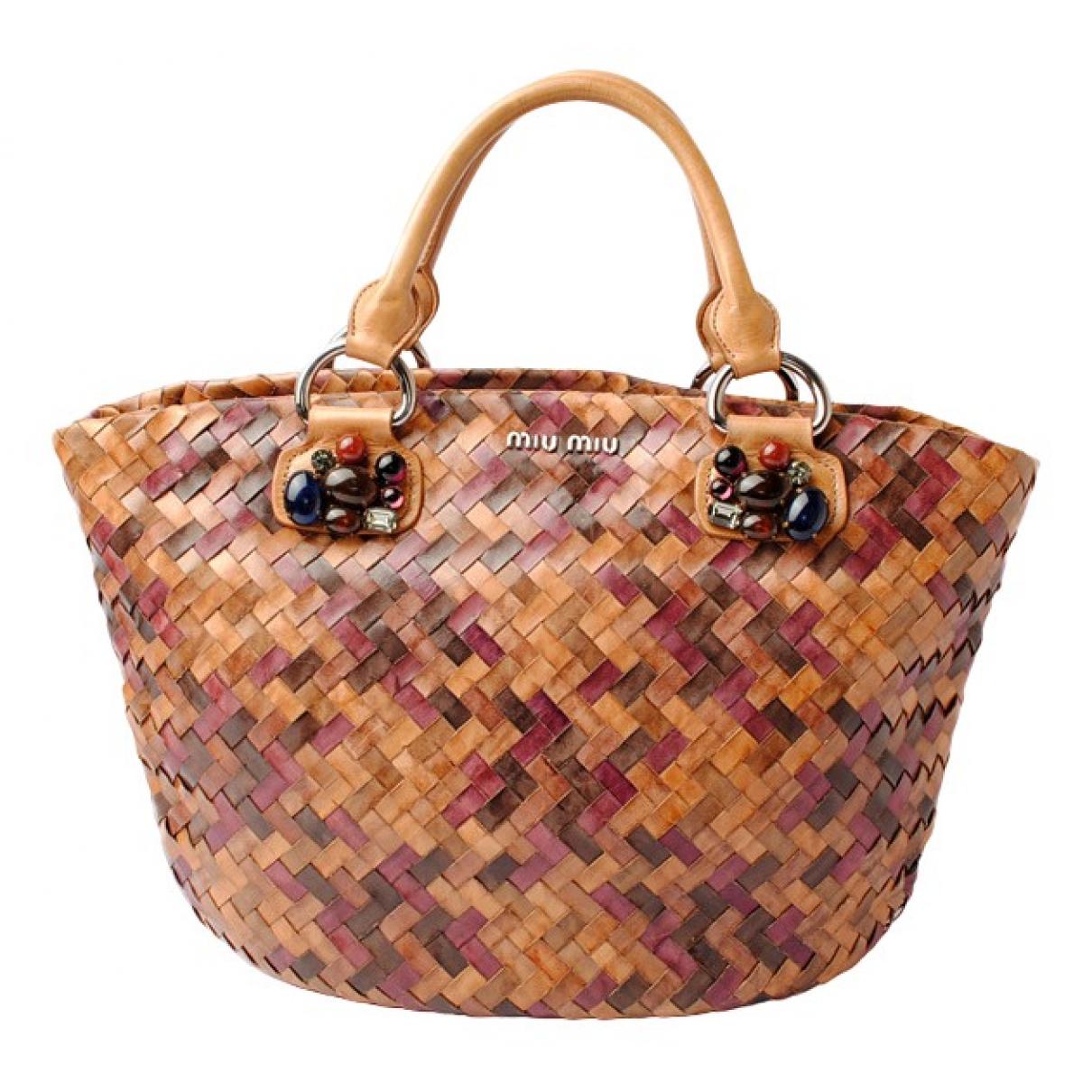 Miu Miu \N Handtasche in  Bunt Leder