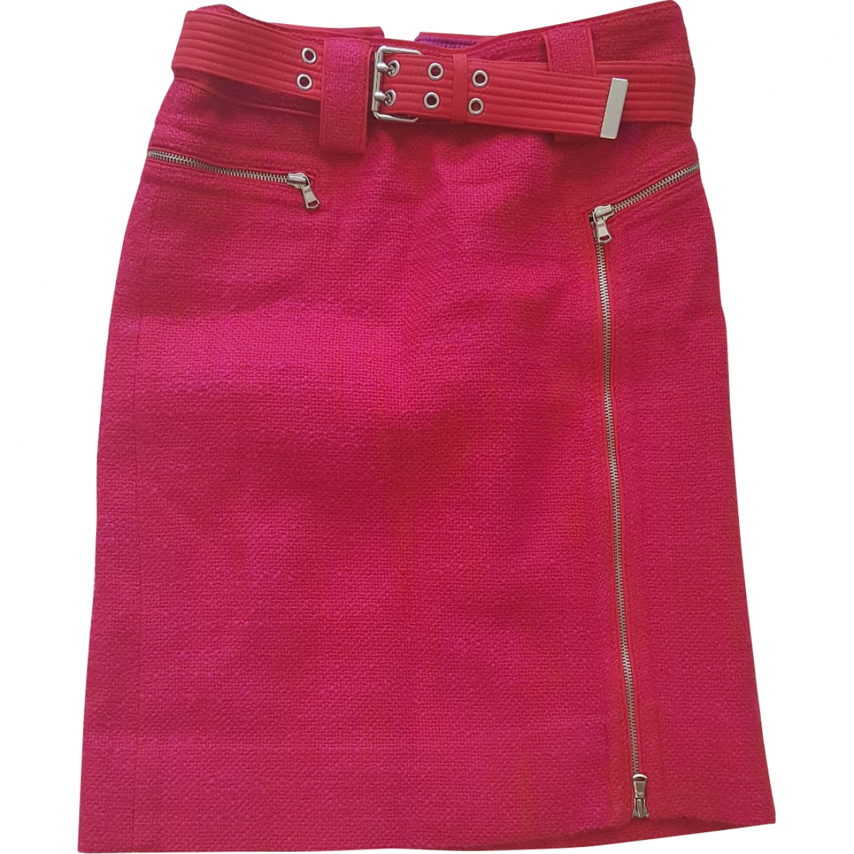 Marc By Marc Jacobs \N Pink Wool skirt for Women 6 UK