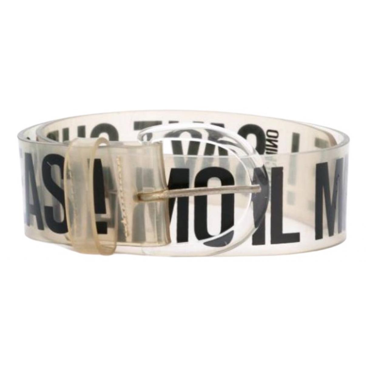 Moschino \N White belt for Women 90 cm