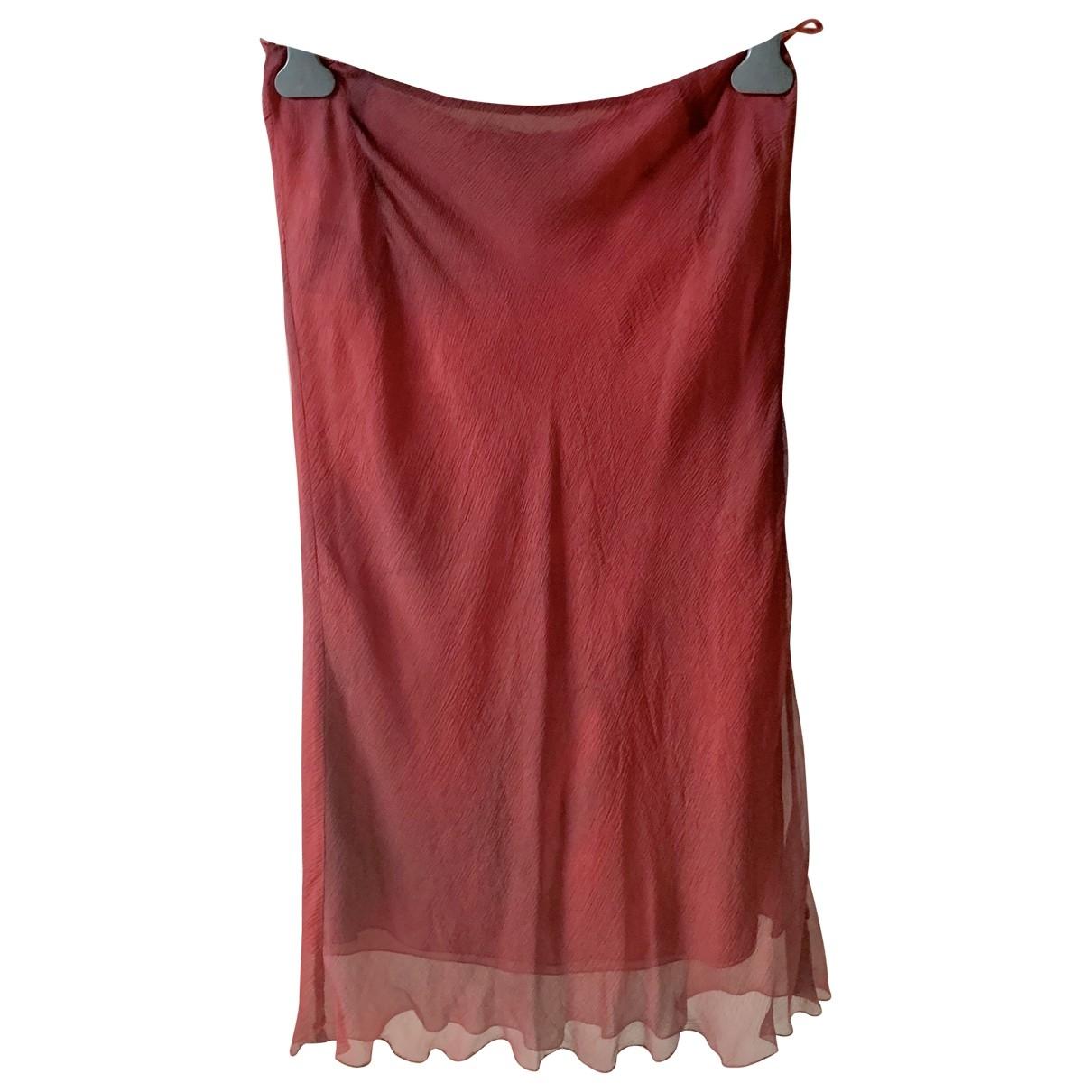 Prada \N Pink Silk skirt for Women 44 IT