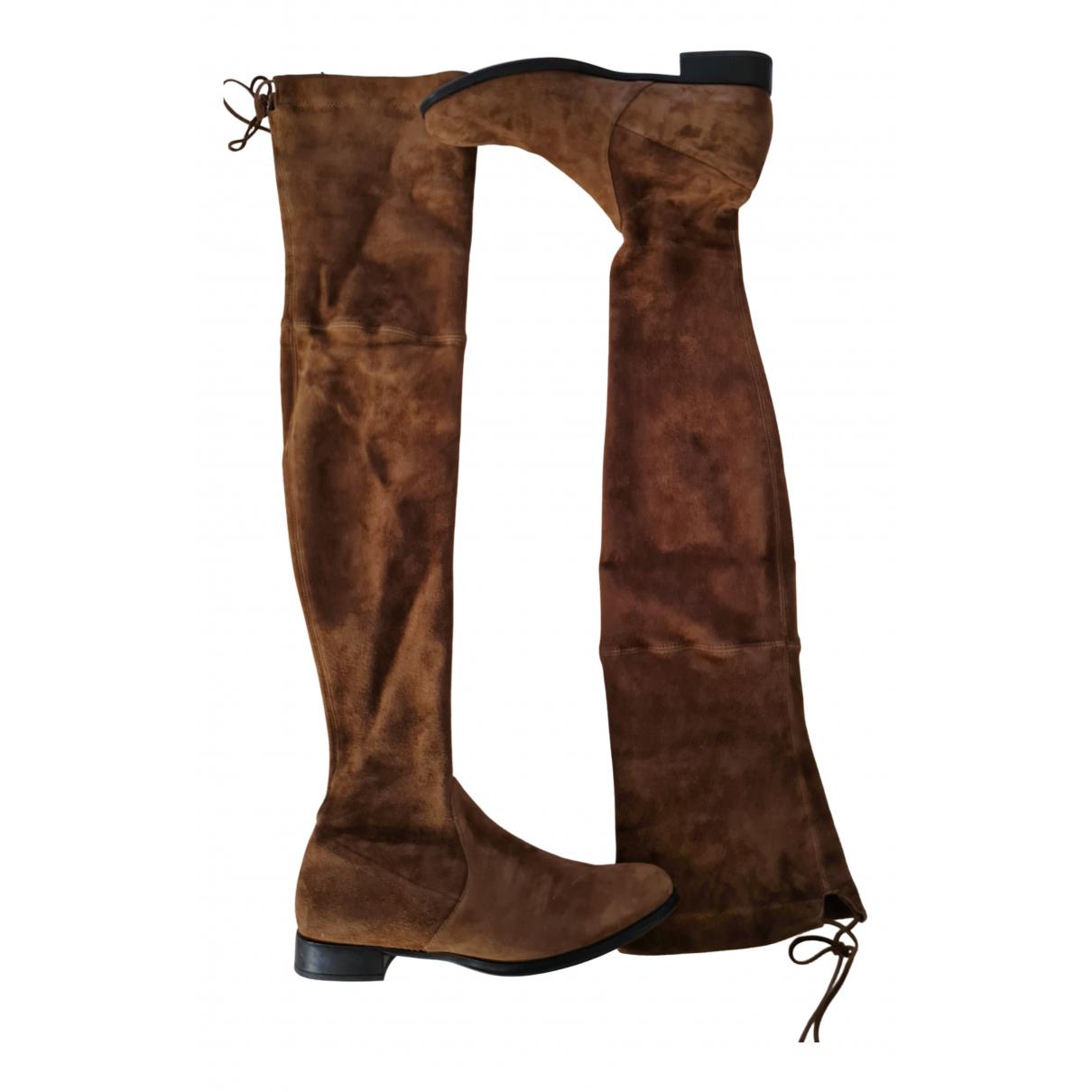 Pretty Ballerinas N Brown Suede Boots for Women 38 EU