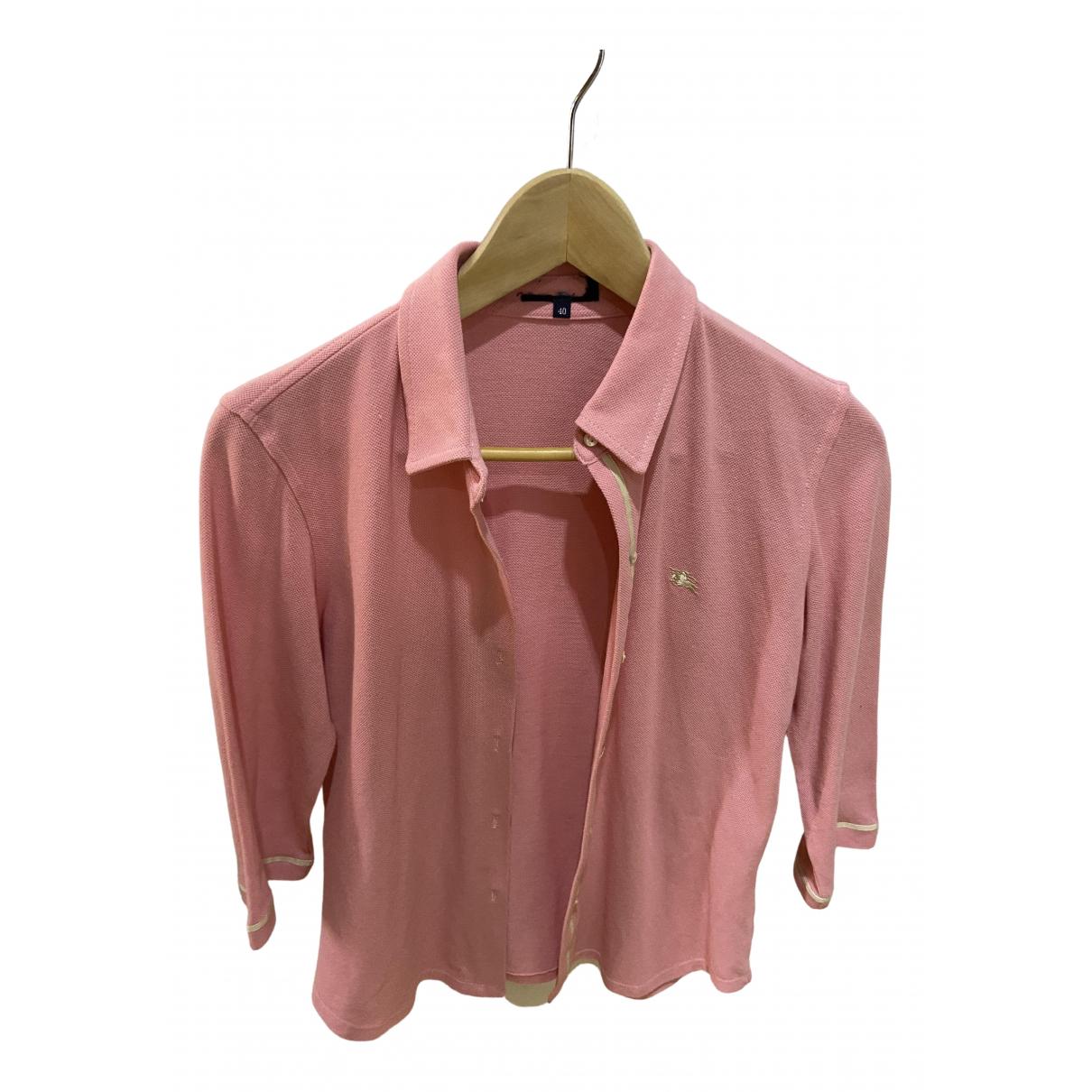 Burberry - Combinaison   pour femme en coton - rose
