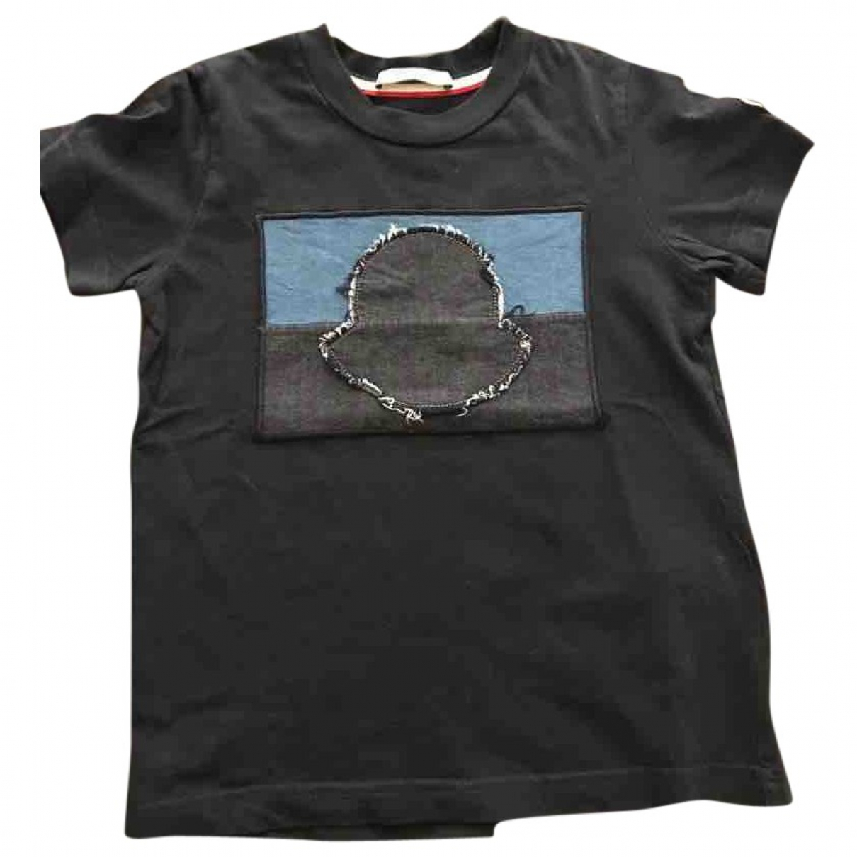Moncler \N Black Cotton  top for Kids 4 years - up to 102cm FR