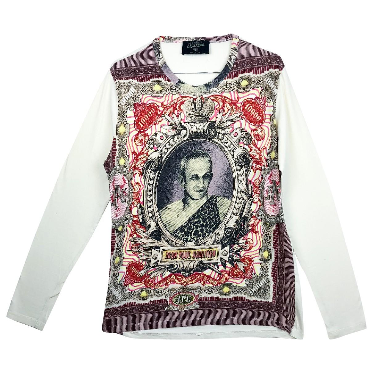 Jean Paul Gaultier - Tee shirts   pour homme en coton - multicolore