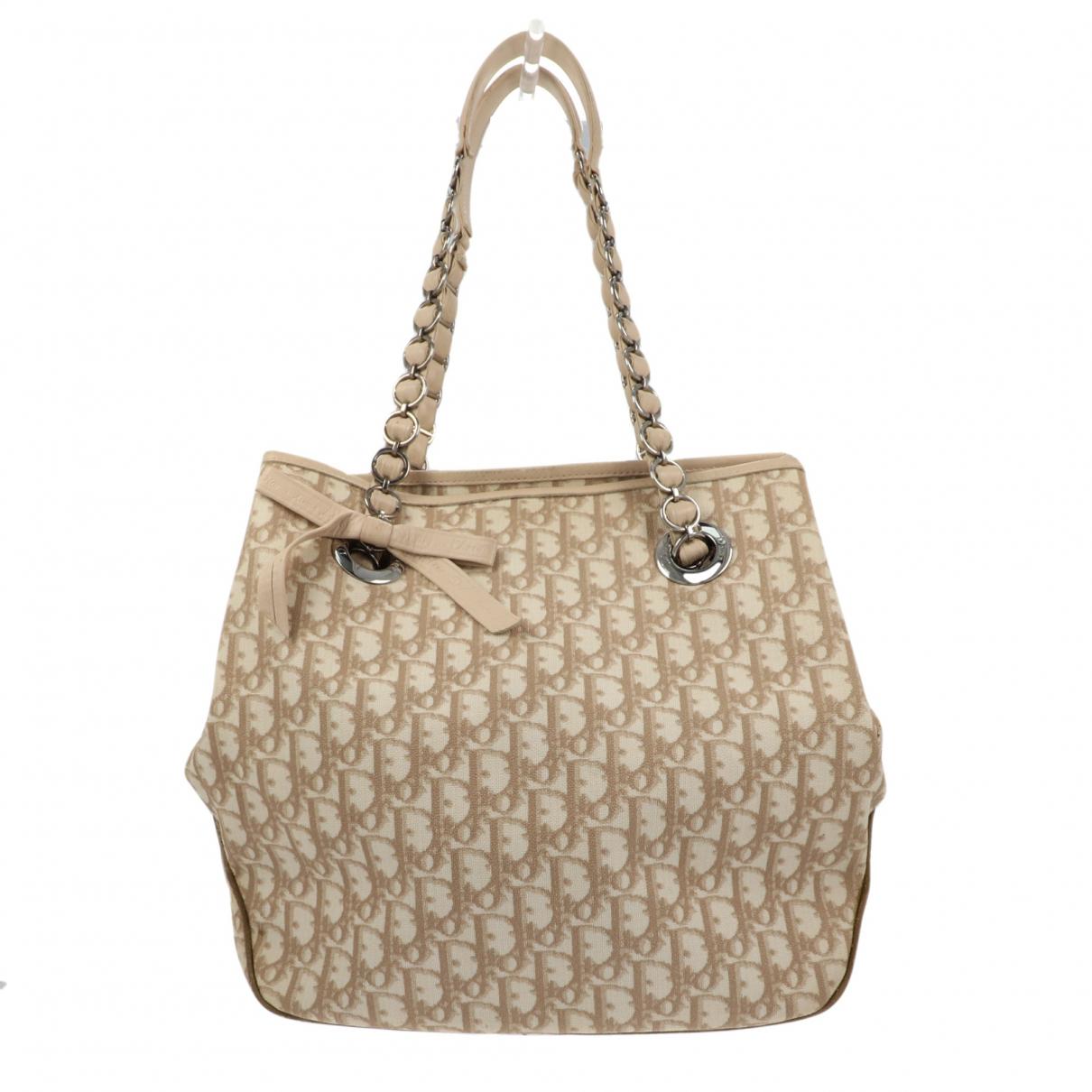 Christian Dior N Beige Cloth handbag for Women N