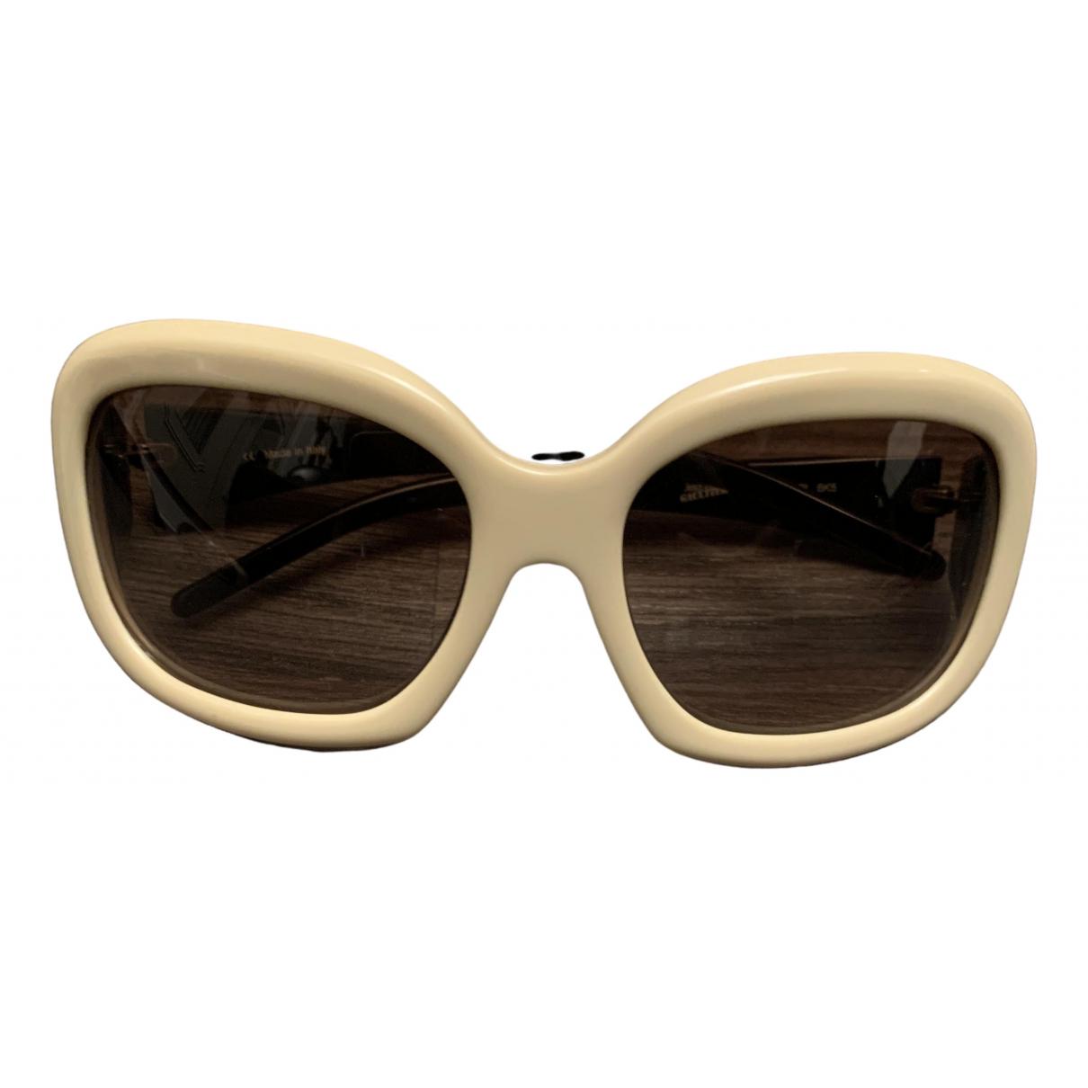 Jean Paul Gaultier - Lunettes   pour femme - beige