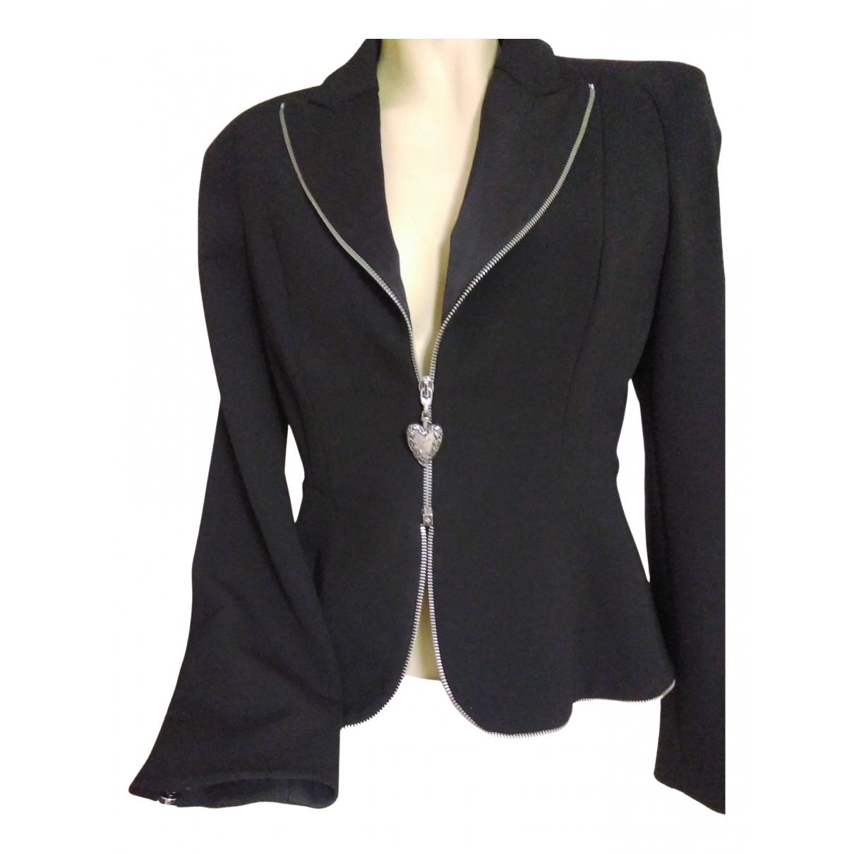 Just Cavalli N Black jacket for Women 44 IT