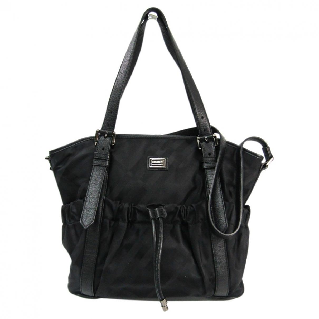 Burberry \N Black handbag for Women \N
