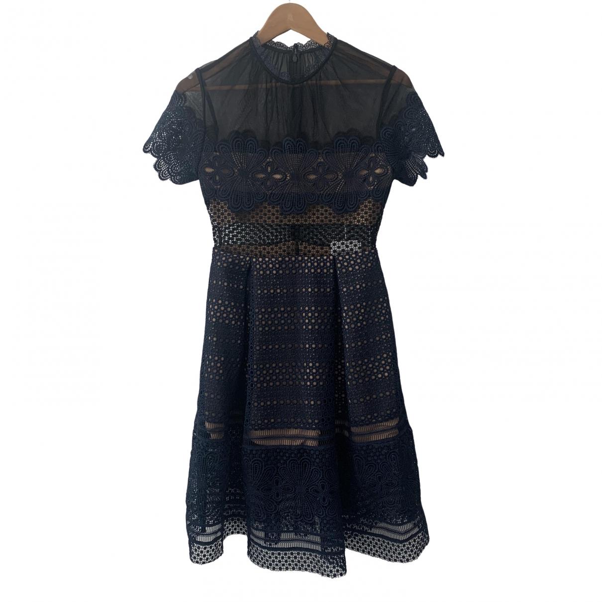 Self Portrait \N Blue dress for Women 10 UK