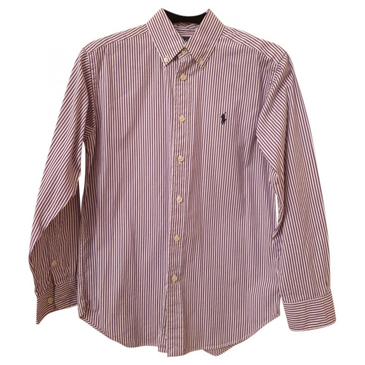 Ralph Lauren - Top   pour enfant en coton - violet