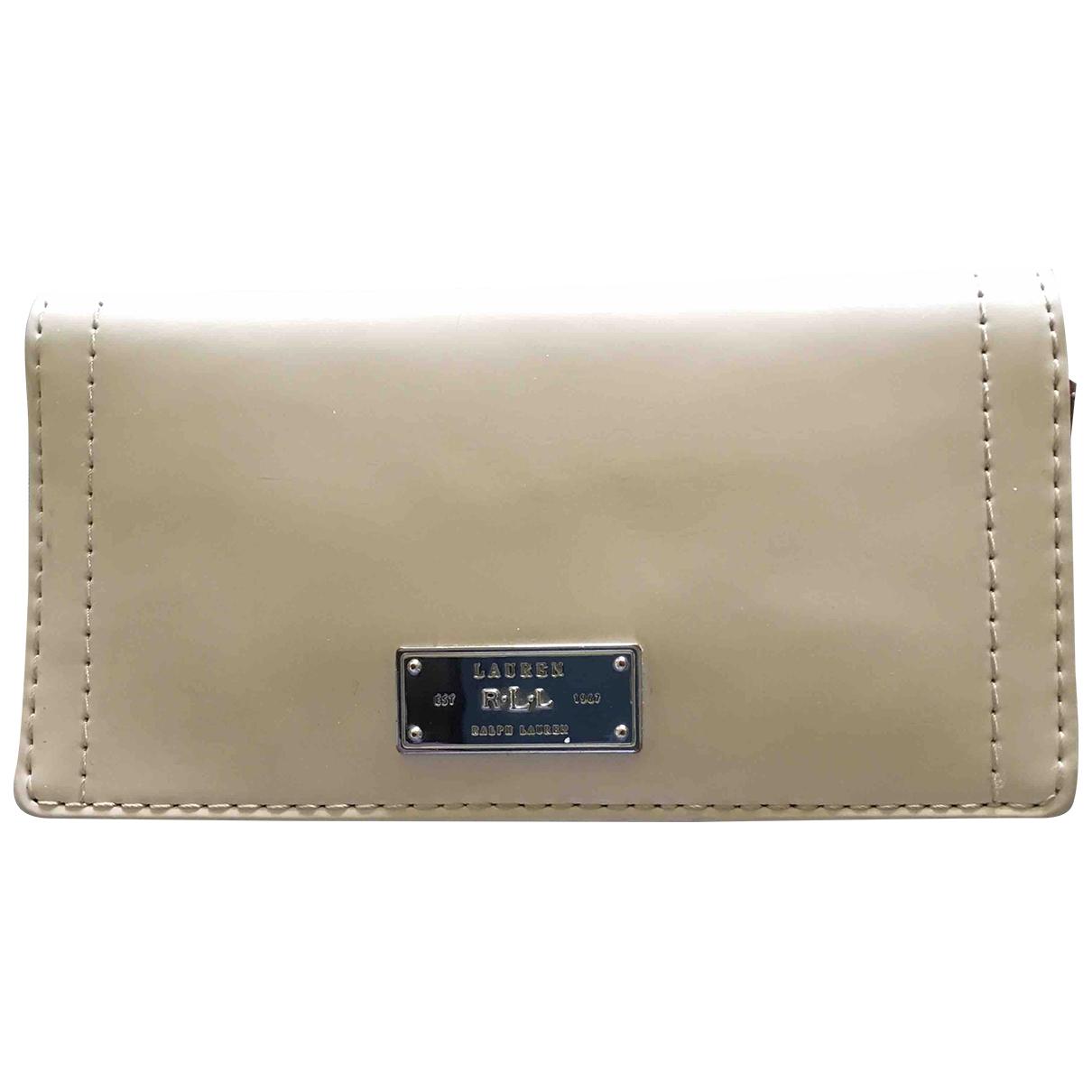 Lauren Ralph Lauren \N Beige Leather wallet for Women \N
