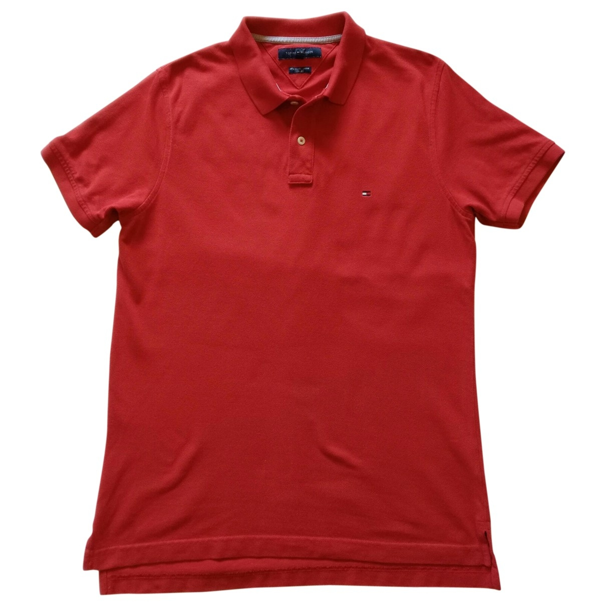 Tommy Hilfiger \N Red Cotton Polo shirts for Men L International