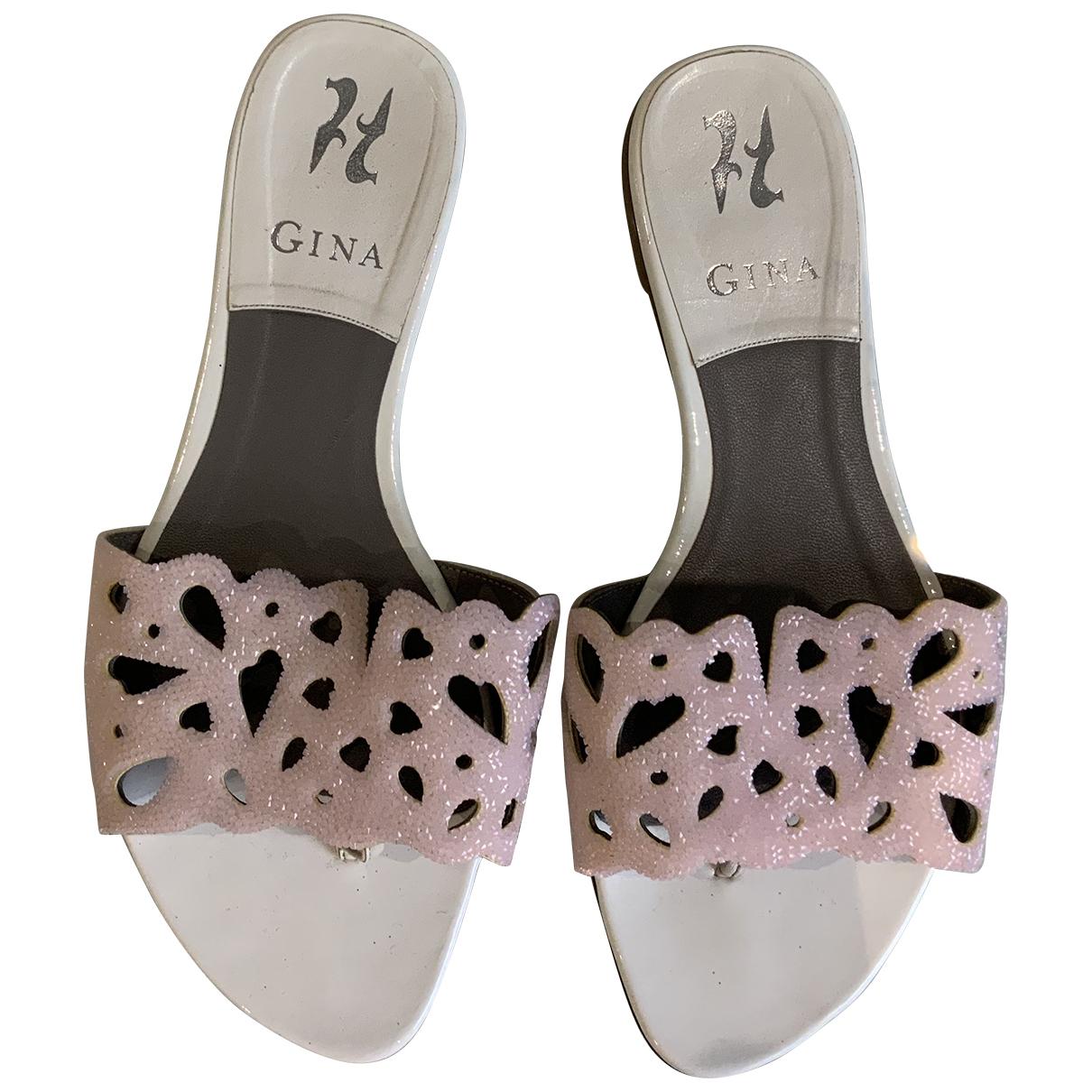 Gina \N Sandalen in Lackleder