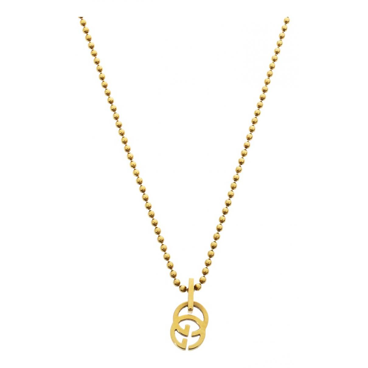 Gucci - Collier   pour femme en or jaune - jaune