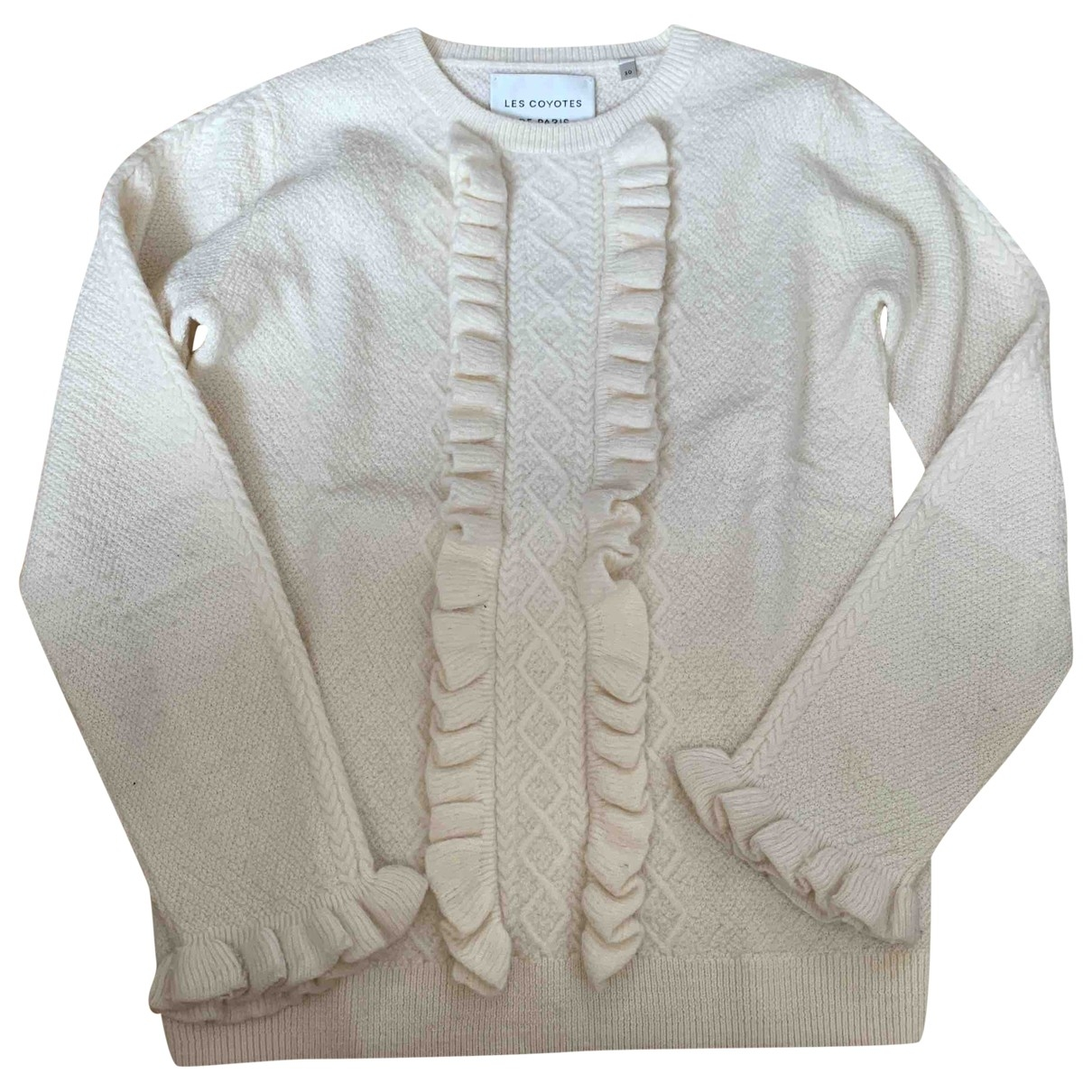Les Coyotes De Paris \N Ecru Wool Knitwear for Kids 10 years - up to 142cm FR