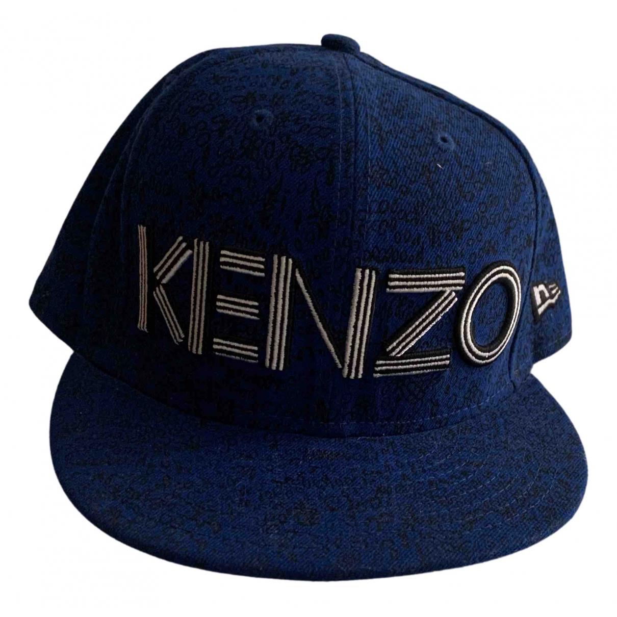 Kenzo N Blue hat & pull on hat for Men 59 cm