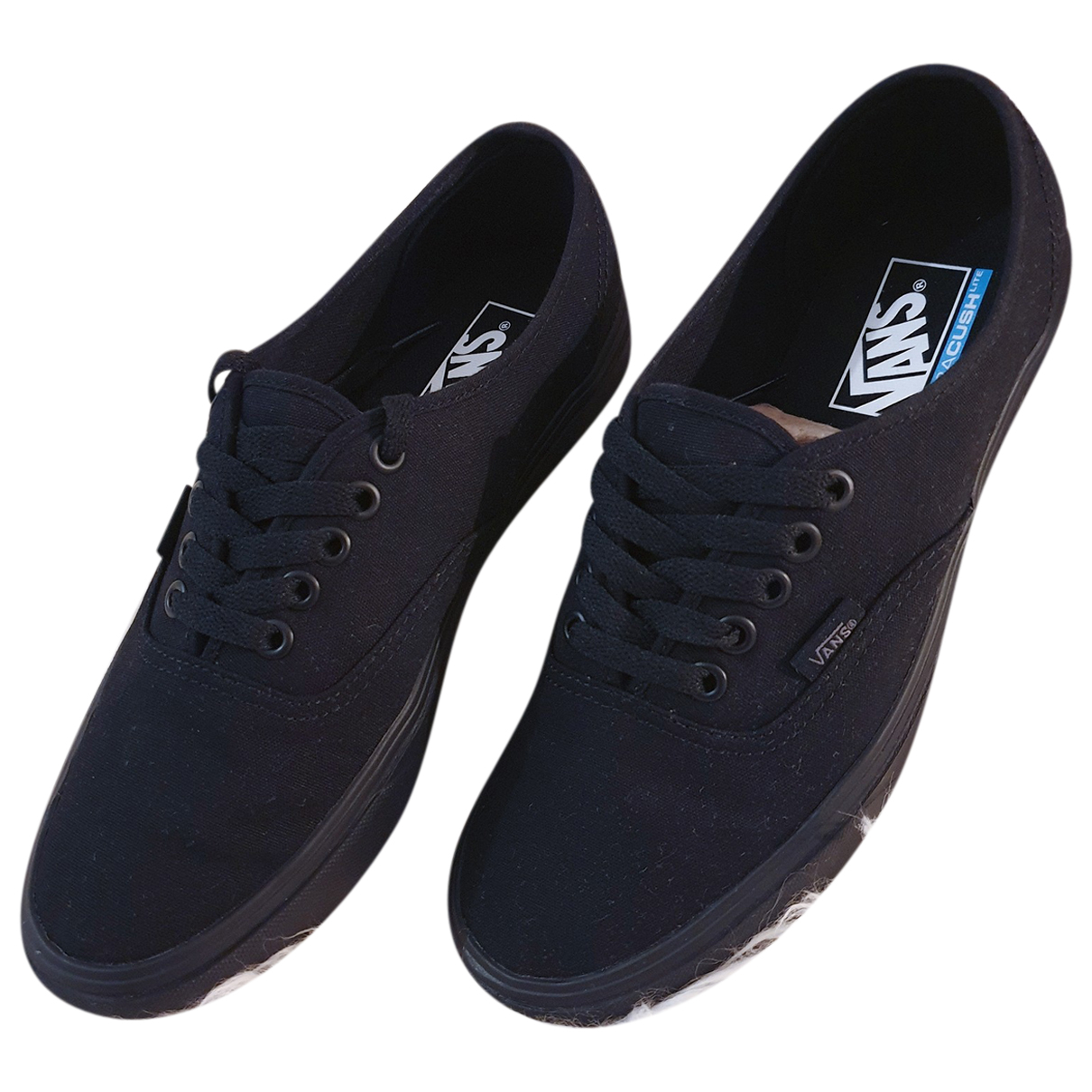 Vans N Black Cloth Trainers for Women 40 EU