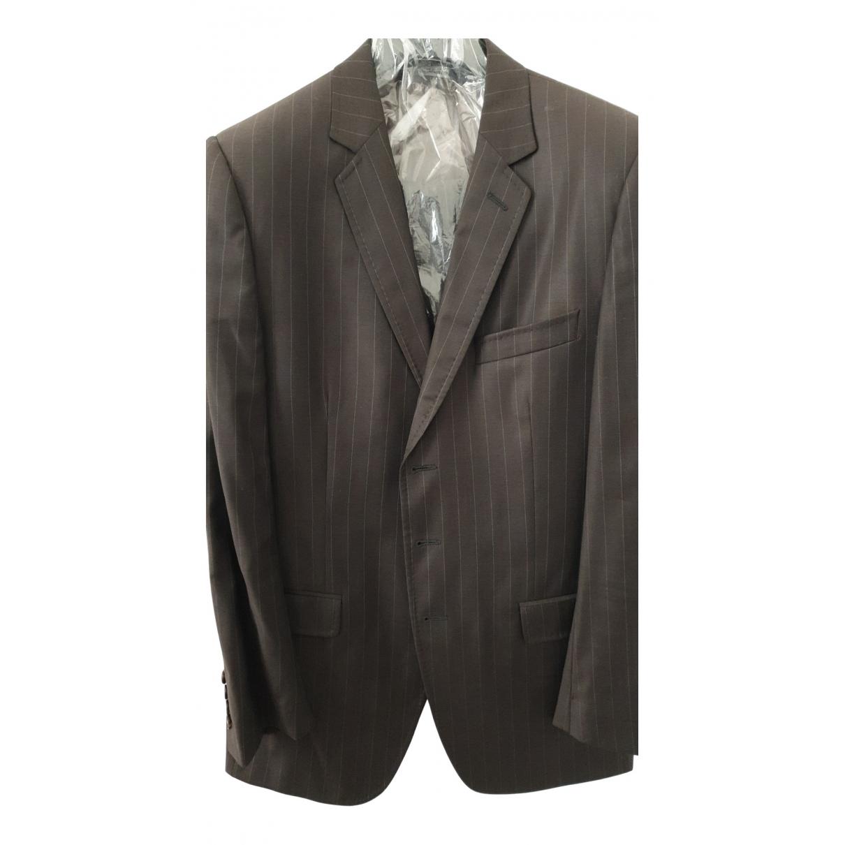 Dolce & Gabbana N Brown Wool Suits for Men L International