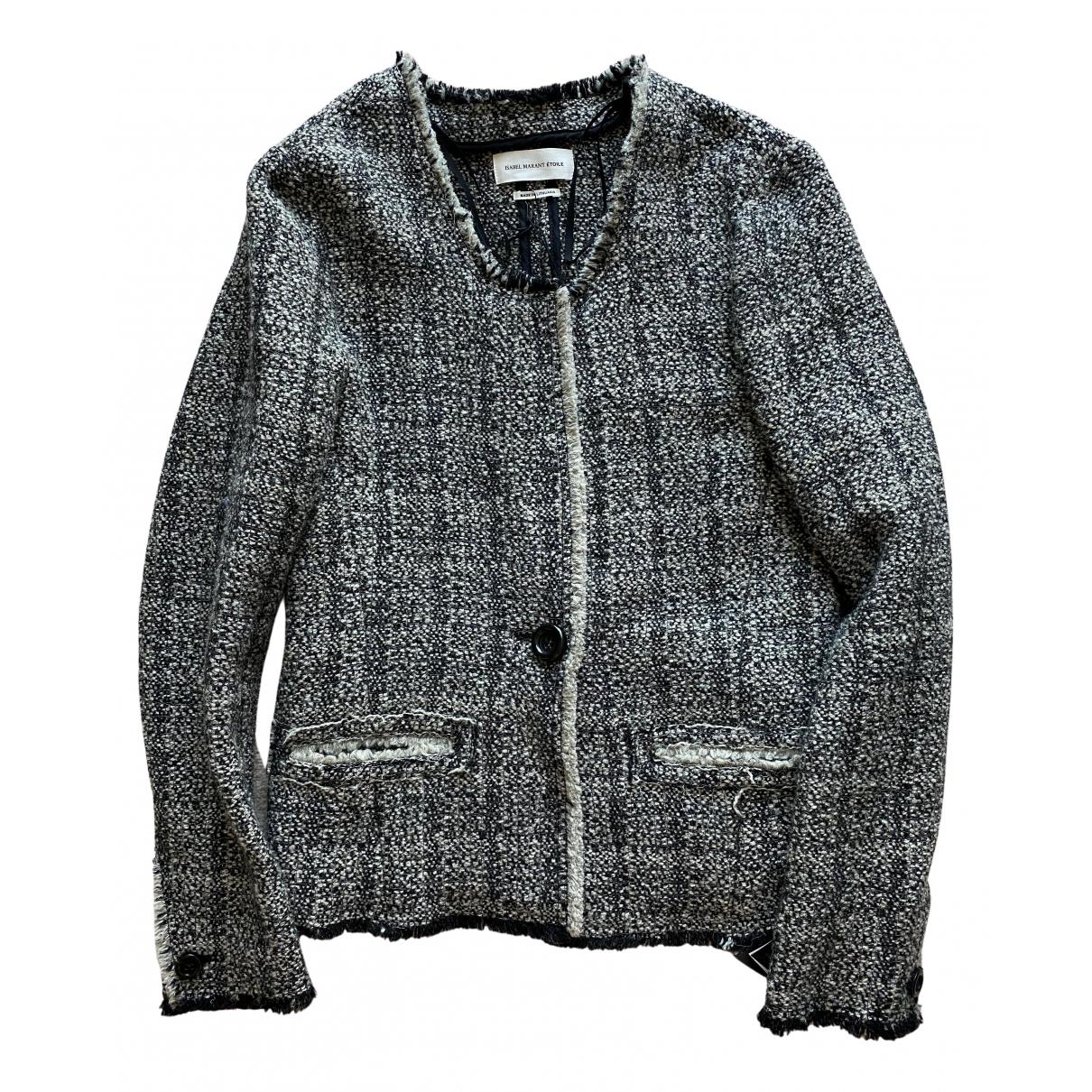 Isabel Marant Etoile \N Grey Wool jacket for Women 38 FR