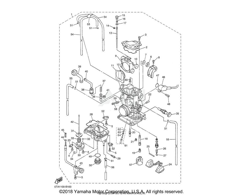 Yamaha OEM 5TA-14916-V1-00 NEEDLE (#NCVQ) | STD