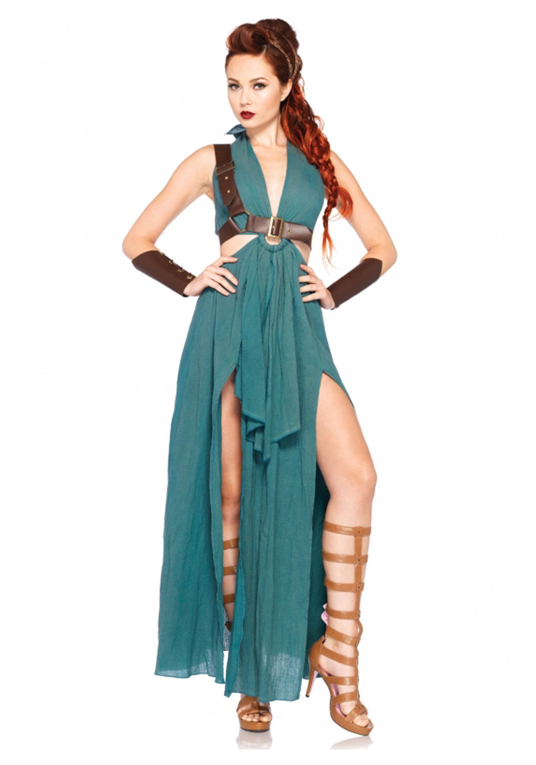 Women's Warrior Maiden Costume