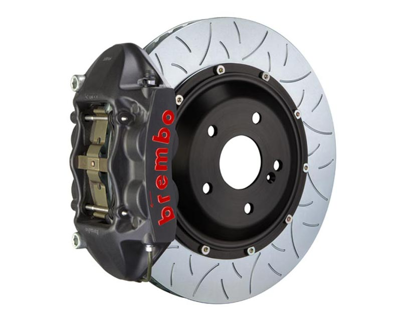 Brembo GT-S 380x28 2-Piece 4-Piston Hard Anodized Type 3 Rear Big Brake Kit