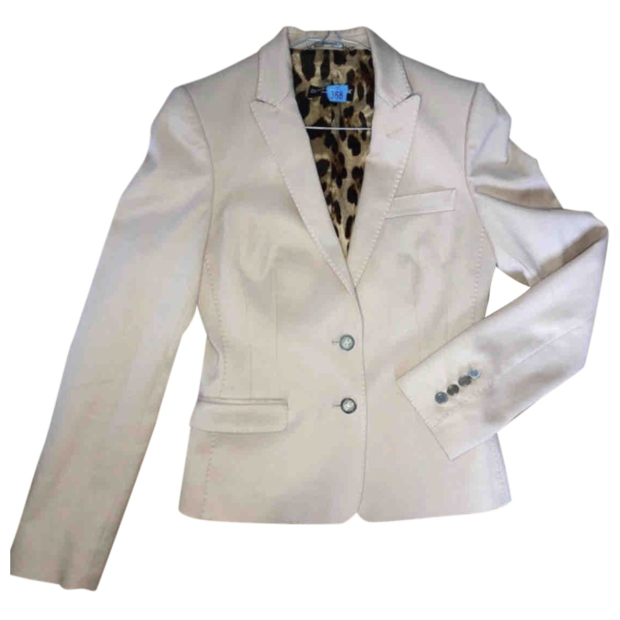 Dolce & Gabbana \N Beige Cotton jacket for Women 40 IT