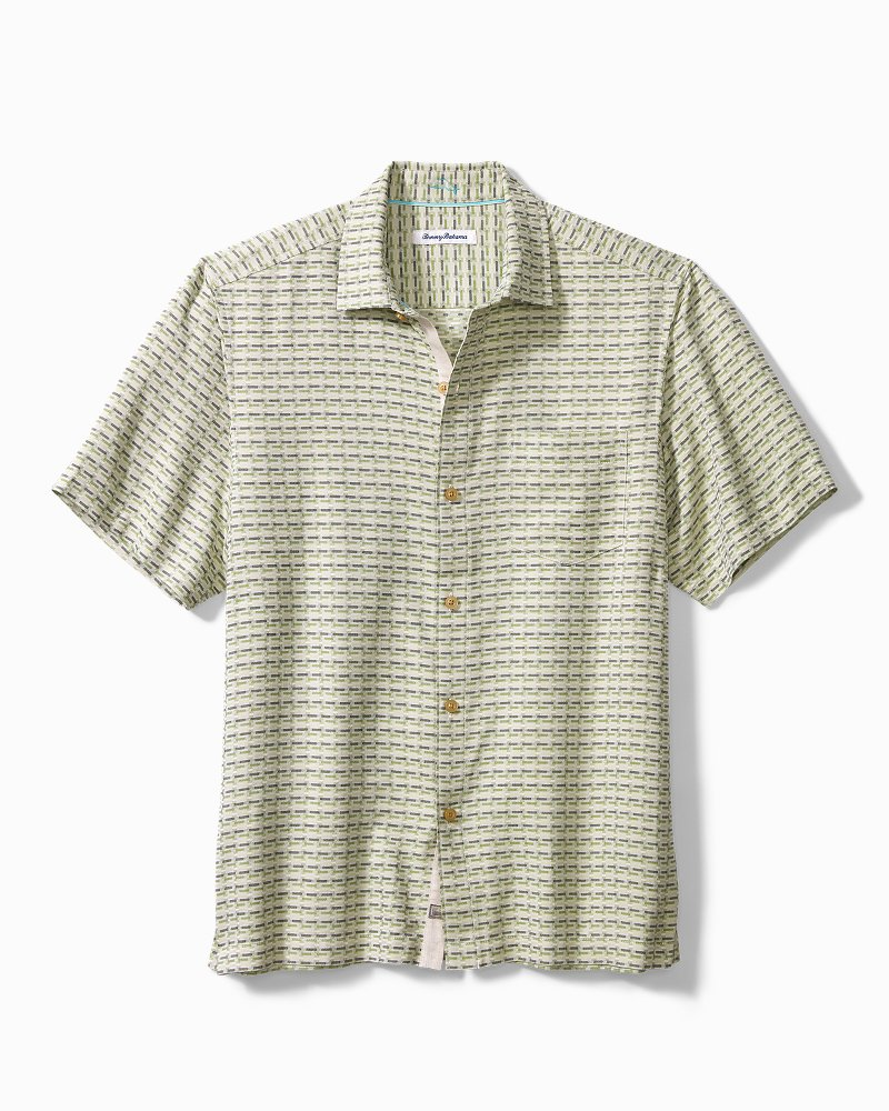 Big & Tall Geovanni Geo Camp Shirt