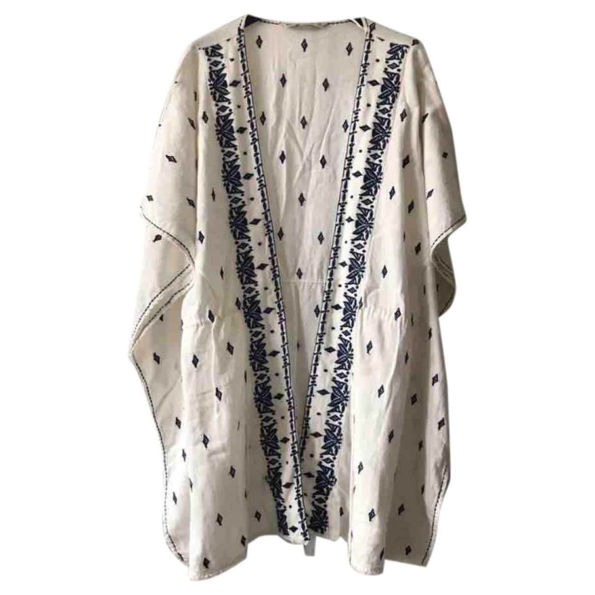 Zara \N Beige Cotton jacket for Women 38 FR