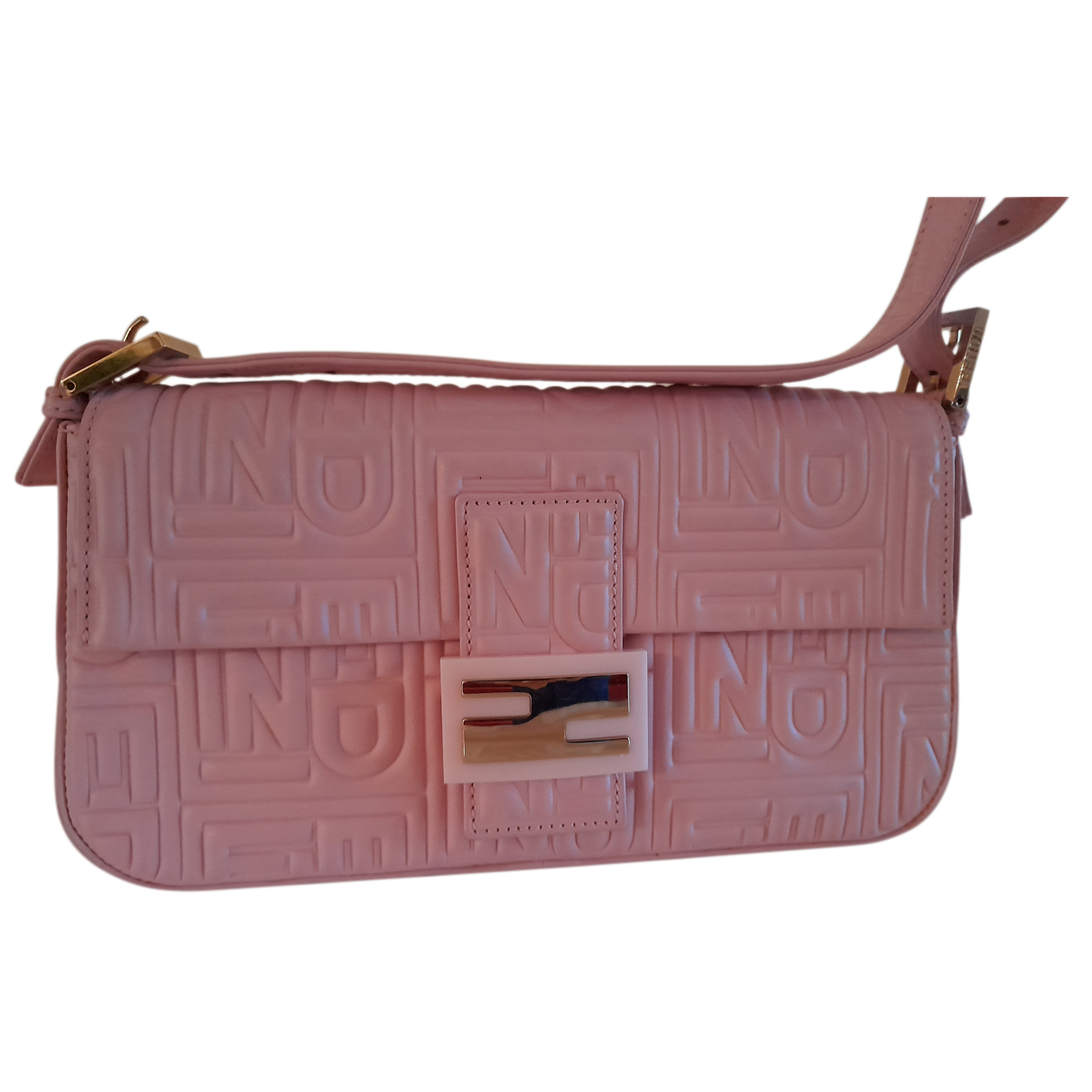 Fendi Baguette Leather Clutch bag for Women N