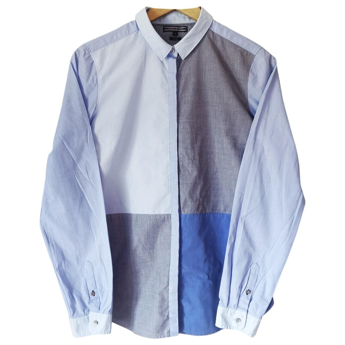 Tommy Hilfiger \N Blue Cotton  top for Women L International