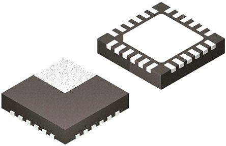 STMicroelectronics LNBH26LSPQR PWM Switching Regulator, 500 mA, 440 kHz, Adjustable, 19.82 V, 24-Pin, QFN (5)