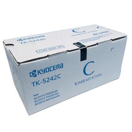 Kyocera Mita TK-5242C 1T02R7CUS0 cartouche de toner original cyan