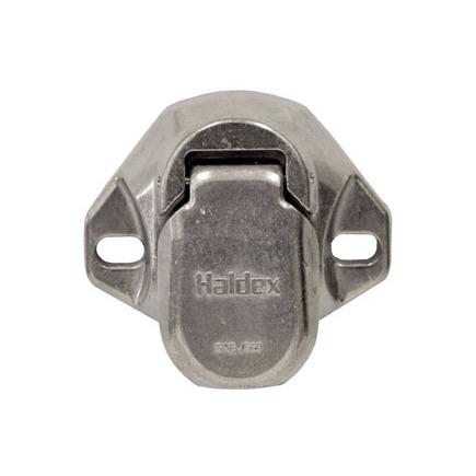 Haldex BE23703 - 7 Way Heavy Duty Die Cast Receptacle (Split Pin)