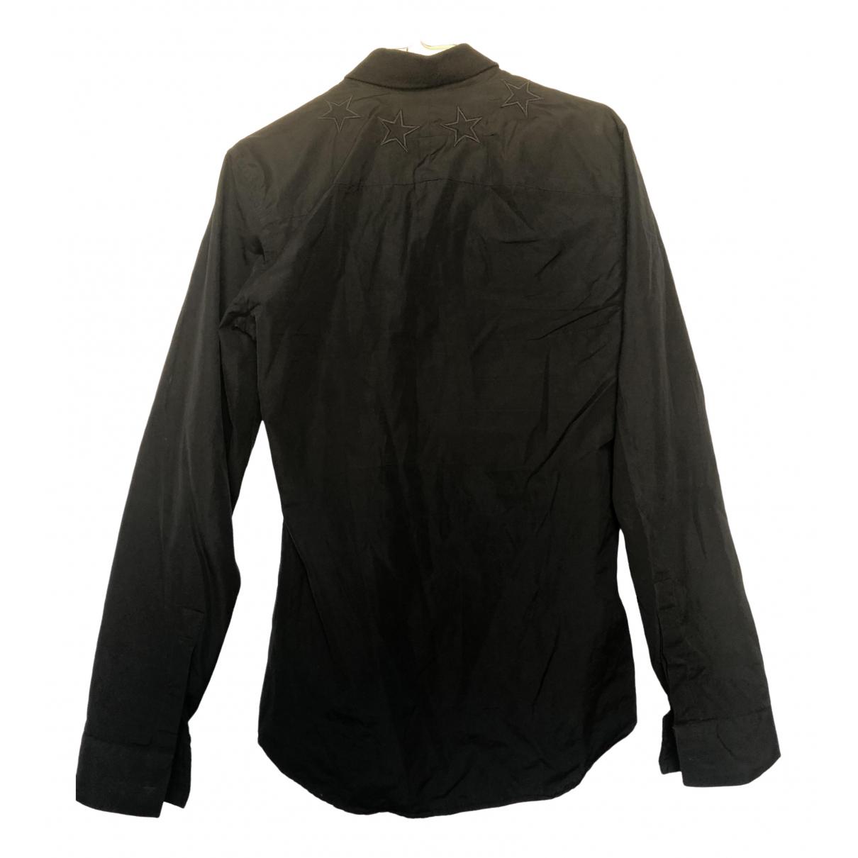 Givenchy \N Black Cotton Shirts for Men 37 EU (tour de cou / collar)