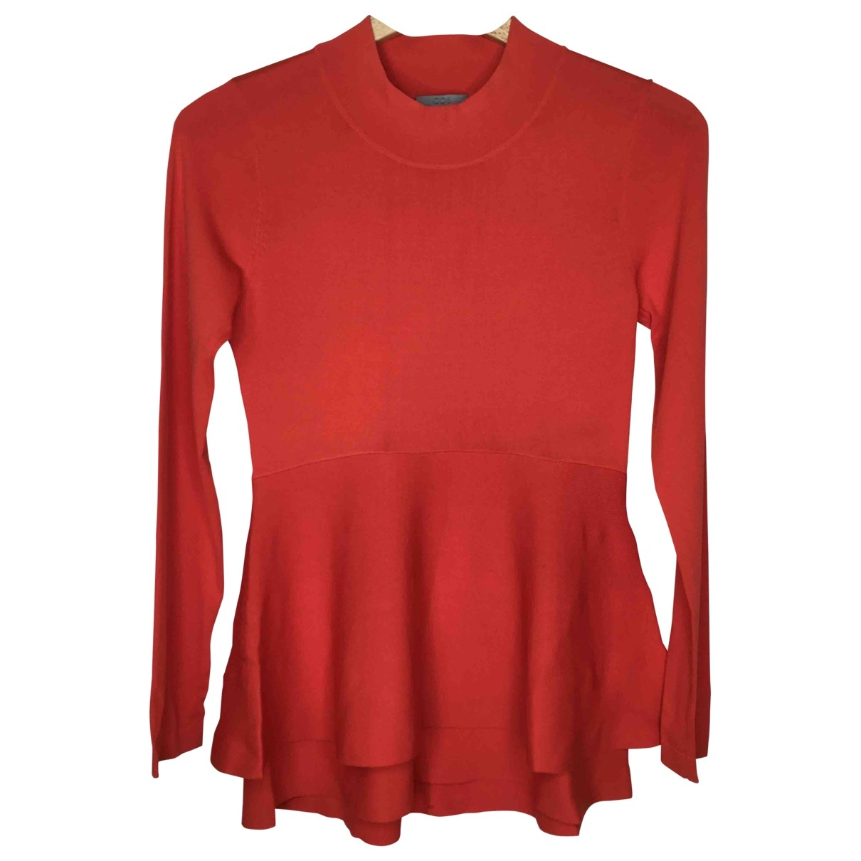 Cos \N Pullover in  Rot Viskose
