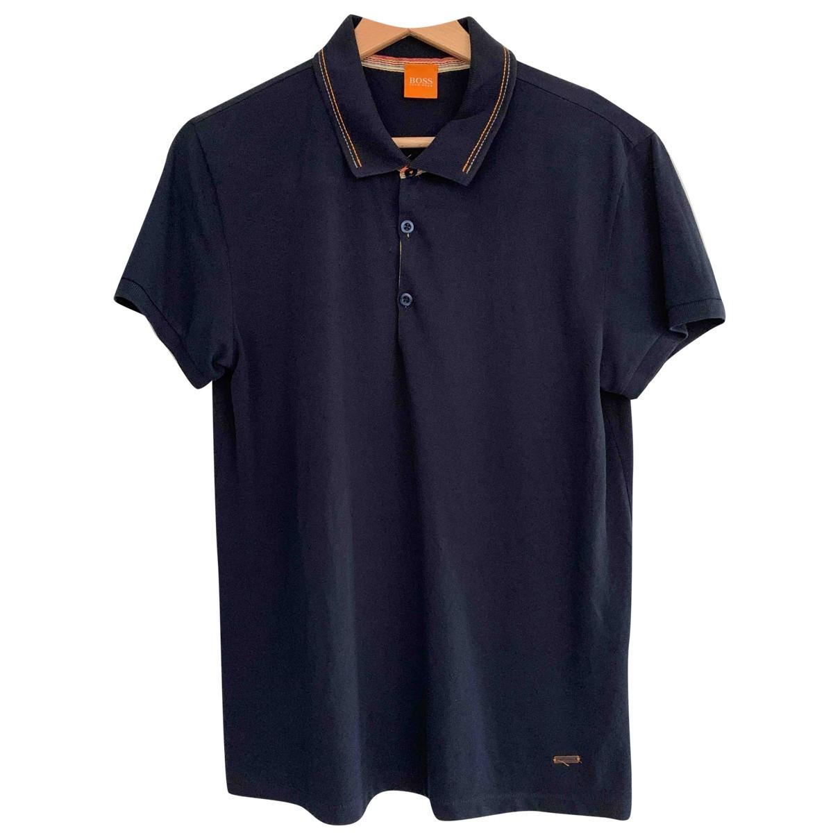 Boss Orange \N Poloshirts in  Marine Baumwolle