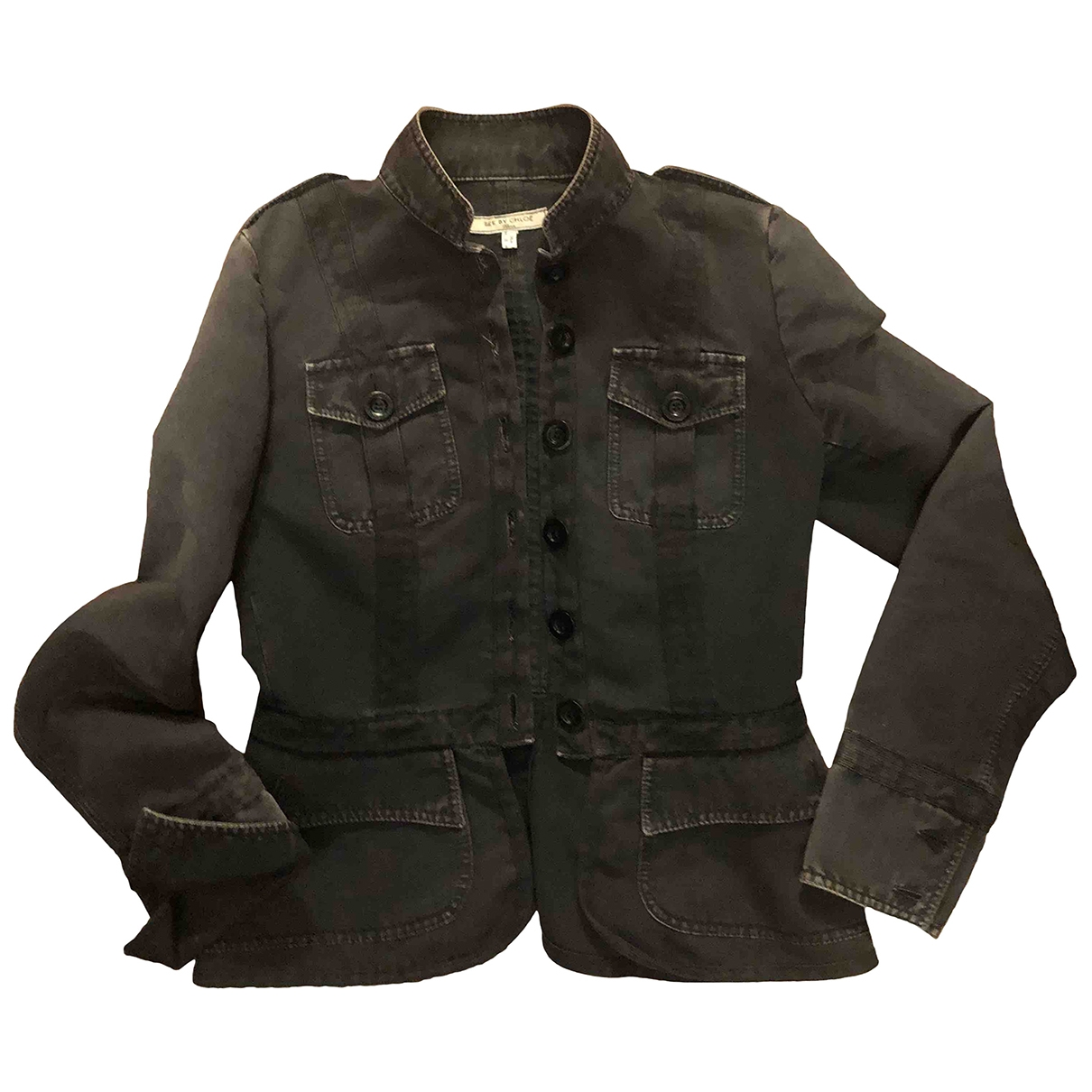 See By Chloé \N Black Cotton jacket for Women 44 IT