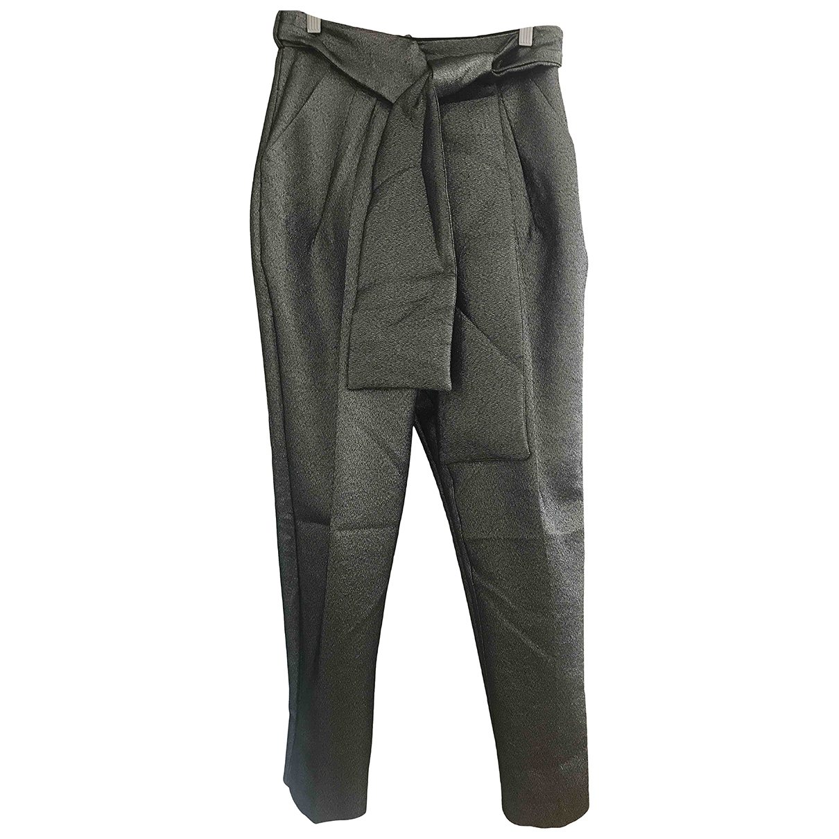 tophop Boutique \N Metallic Trousers for Women 10 UK