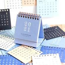 1pc Random 2021 Desktop Desk Calendar