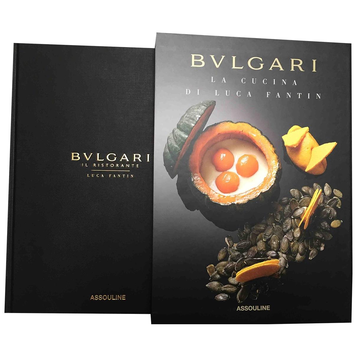 Bvlgari \N Mode in  Schwarz Baumwolle