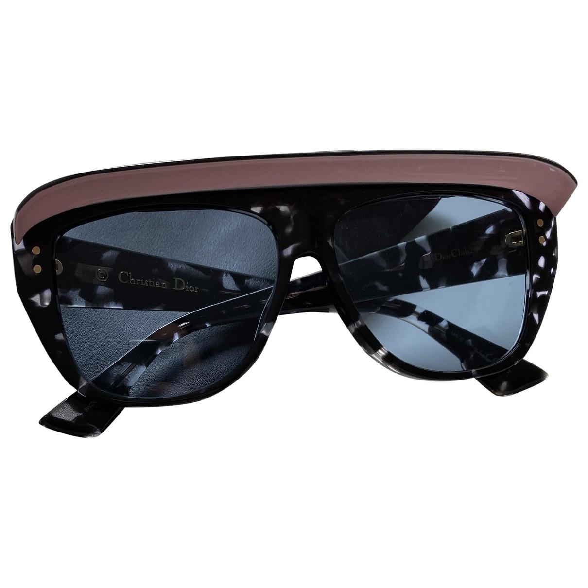 Christian Dior \N Sonnenbrillen in  Blau Kunststoff