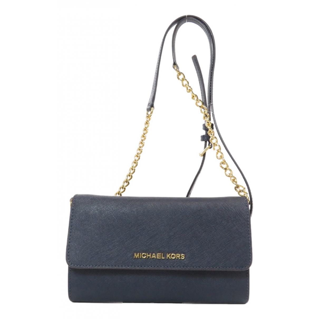 Michael Kors \N Navy Leather handbag for Women \N