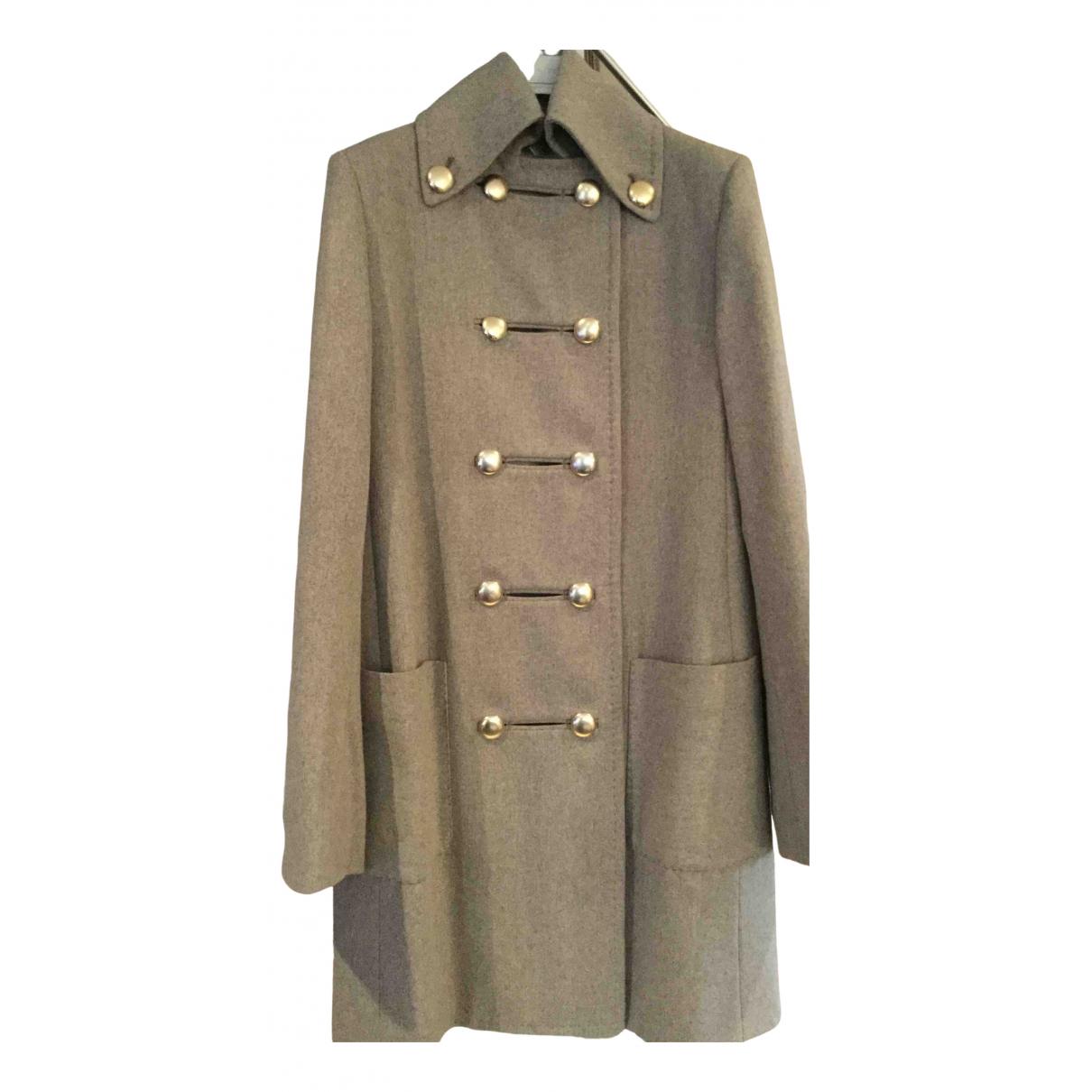 Stella Mccartney N Beige Wool coat for Women 40 IT
