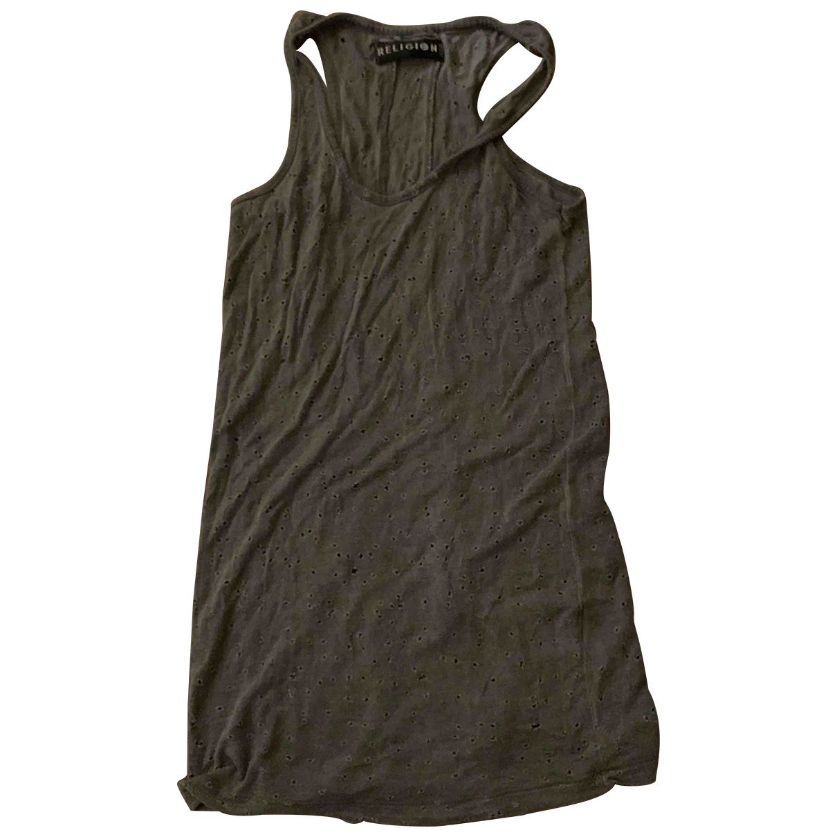 Religion \N Anthracite  top for Women XS International