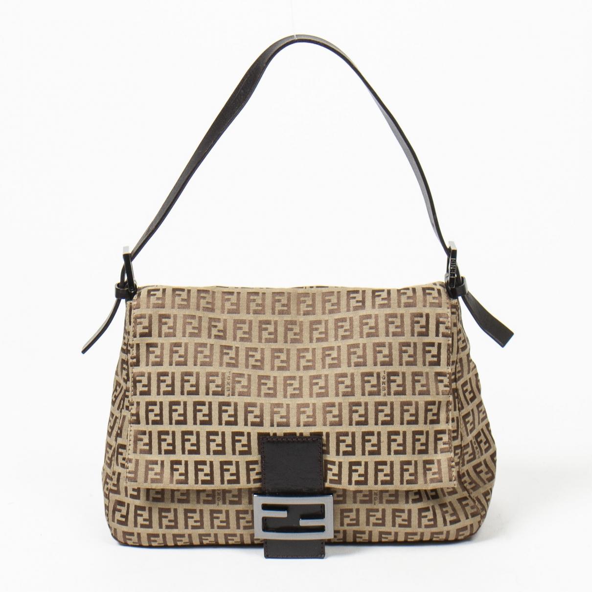 Fendi Mamma Baguette  Leather handbag for Women \N