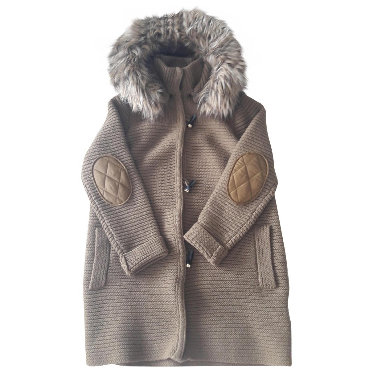 Tommy Hilfiger \N Pullover in  Beige Wolle