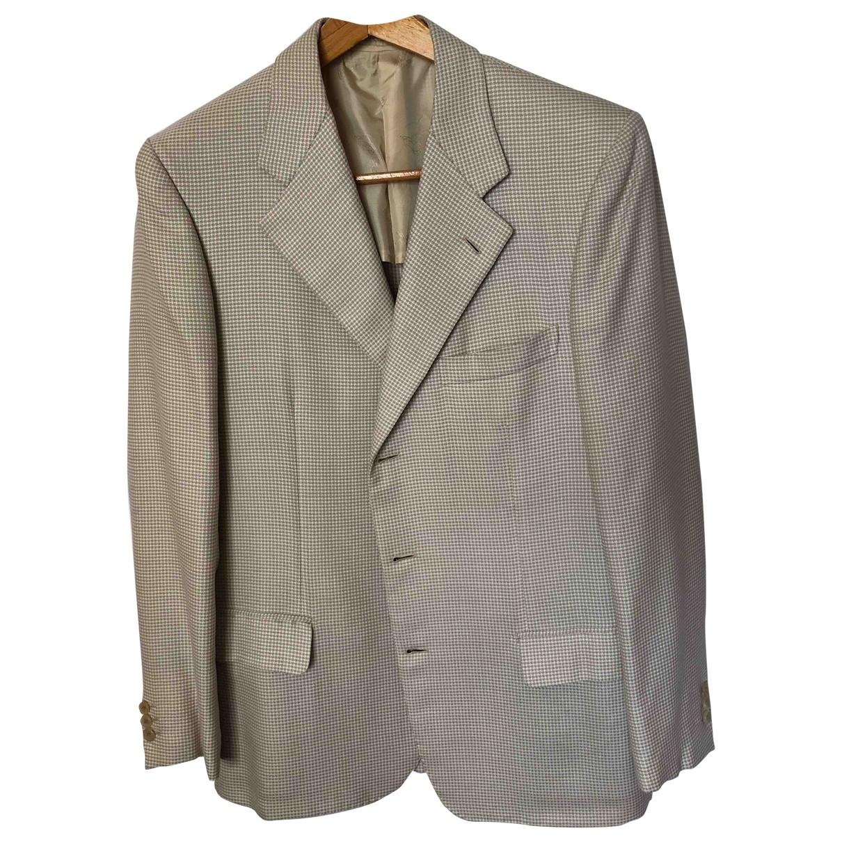 Brioni \N Beige Wool jacket  for Men 52 IT