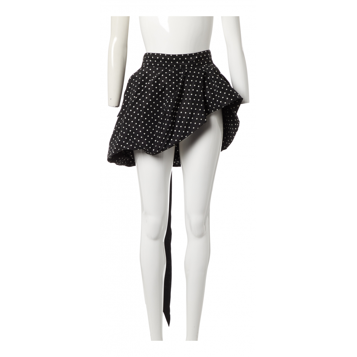 Dries Van Noten N Black Silk skirt for Women 36 IT